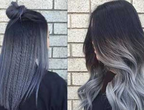 رنگ مو و هایلایت بلوند دودی در طیف های مختلف