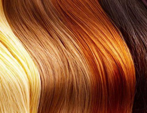 انواع رنگ مو های موقت